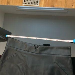 Zara Skirts - 🆕 Zara Black Faux Leather Pencil Skirt